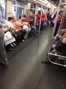 Clean Medellin Metro ;)