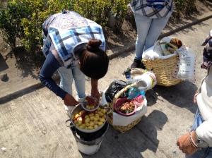 Street food: Salchipapa