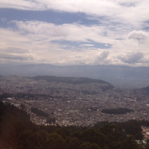 Quito from high above