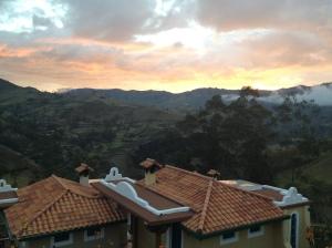 The view from Llullu Llama hostel