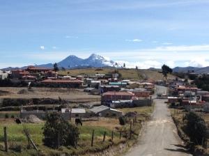 Quilotoa village