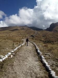 Uphill we go