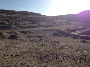 Cahuachi ruins